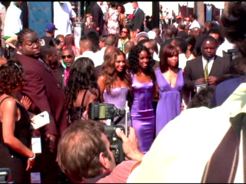 destiny's child at the 2005 bet awards arrivals at the kodak theatre in hollywood, california on june 28, 2005. - bet awards bildbanksvideor och videomaterial från bakom kulisserna