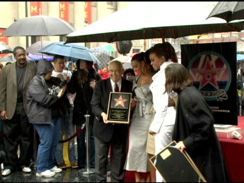 stockvideo's en b-roll-footage met destiny's child at the dedication of destiny's child's star on walk of fame at hollywood boulevard in hollywood, california on march 28, 2006. - destiny's child