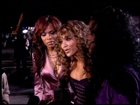 Destiny's Child at the Rockin' the Corps Concert at Camp Pendleton in San Diego California on April 1 2005
