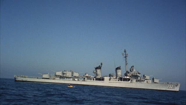 MS Destroying navy ship