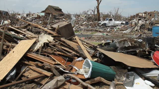 destruction from a tornado - damaged stock videos & royalty-free footage