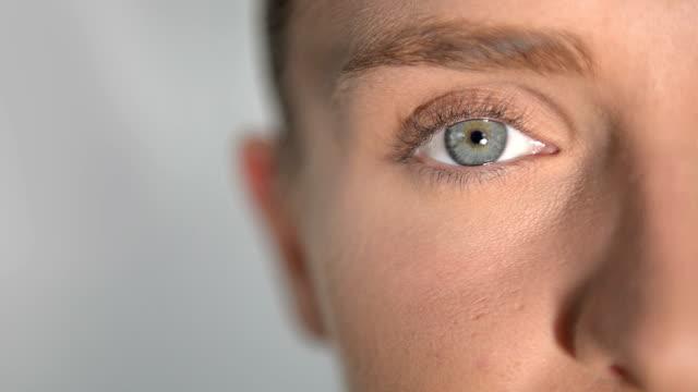 Detailansicht der menschlichen Auge