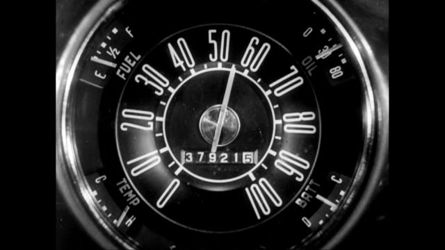 cu detail of speedometer / united states - speedometer stock videos & royalty-free footage