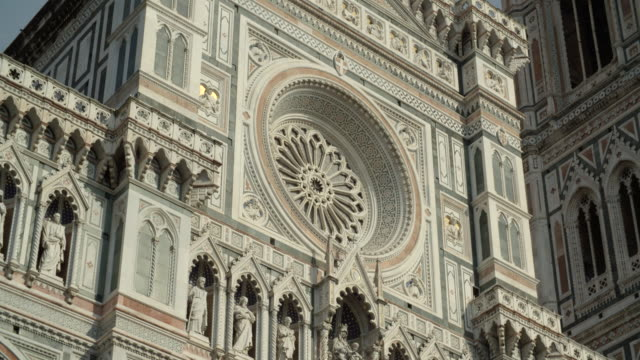 detail of the piazza del duomo  / florence, italy - florence italy stock videos and b-roll footage