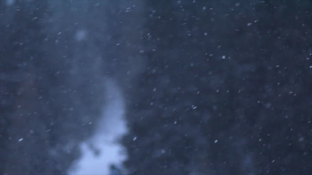 detail of the snow falling snowing on a snow covered mountain. - tyrol state austria stock videos and b-roll footage