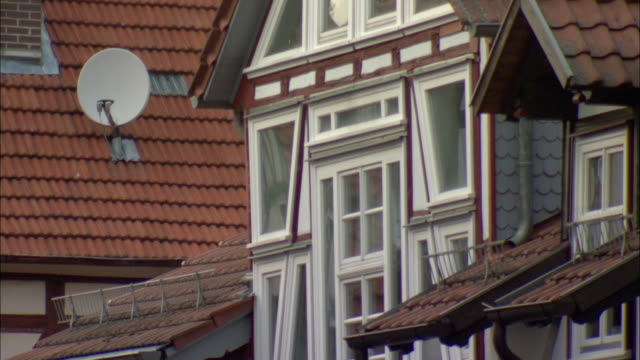 CU Detail of traditional half-timbered house / Kassel, Germany