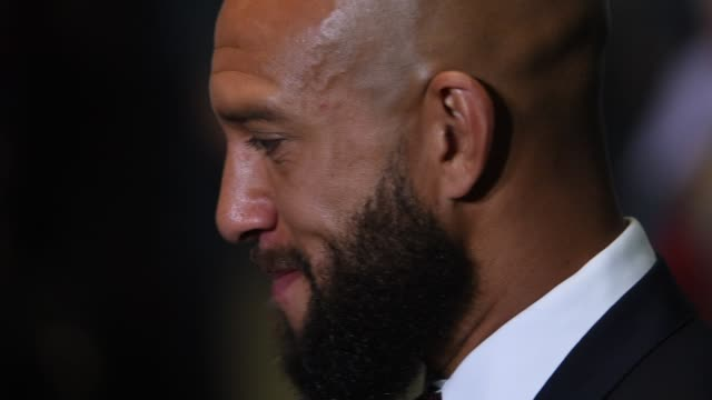 detail shots of tim howard at his press conference announcing his move back to the us to play for major league soccer's colorado rapids - major league soccer stock videos and b-roll footage