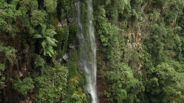 detail view of yarrabilgong falls - idyllic stock videos & royalty-free footage