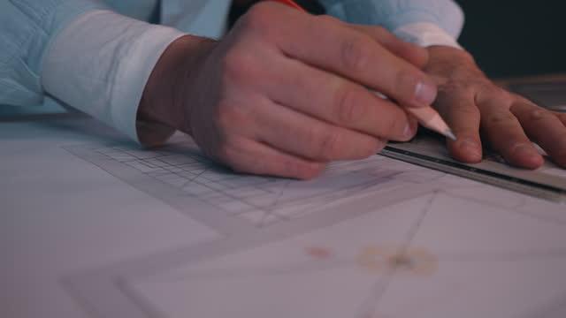 vídeos y material grabado en eventos de stock de los detalles son la clave de cualquier proyecto. - croquis