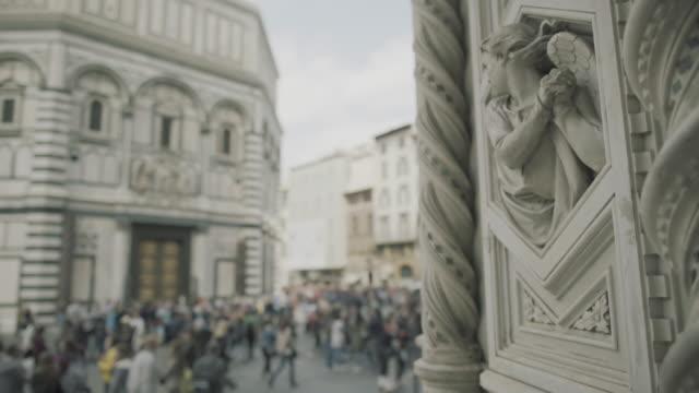 Dettagli del Duomo Santa Maria del Fiore a Firenze