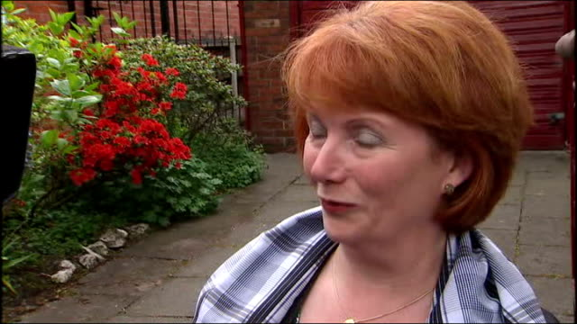 details of mp's expenses claims leaked details of mp's expenses claims leaked lancashire salford hazel blears mp speaking to press sot clearly all my... - hazel eyes stock videos & royalty-free footage