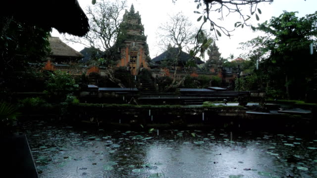 details of ubud palace in bali - ubud stock videos & royalty-free footage