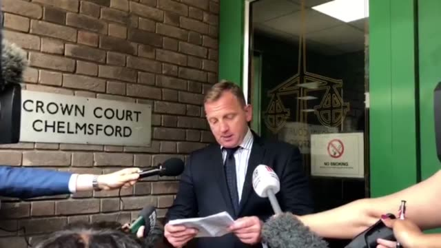 detective chief inspector daniel stoten reads the victim impact statement from the parents of summer grant who died after being blown away in a... - shelby stock videos & royalty-free footage