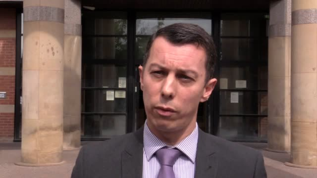Detective Inspector Matt Hollingsworth speaks outside Teesside Crown Court where Cezar Florea has been jailed for attempted rape after being...