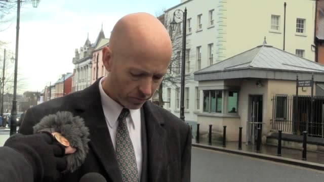 detective inspector peter mckenna speaks on the sentencing of liam whoriskey for the manslaughter of a threeyearold toddler a man has been sentenced... - 2 3 years stock videos & royalty-free footage