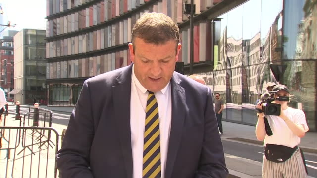 detective superintendent stuart blaik of thames valley police saying the three people sentenced over the death of pc andrew harper have never shown... - detective stock videos & royalty-free footage