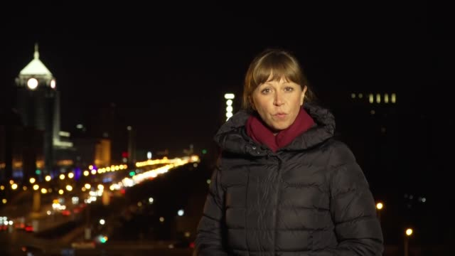 Detention of two Canadians in Beijing related to Huawei row CHINA Beijing Reporter to camera SOT
