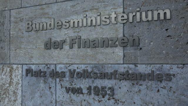 Detlev-Rohwedder-Haus, Federal Ministry of Finance, Wilhelmstraße, Berlin, Germany
