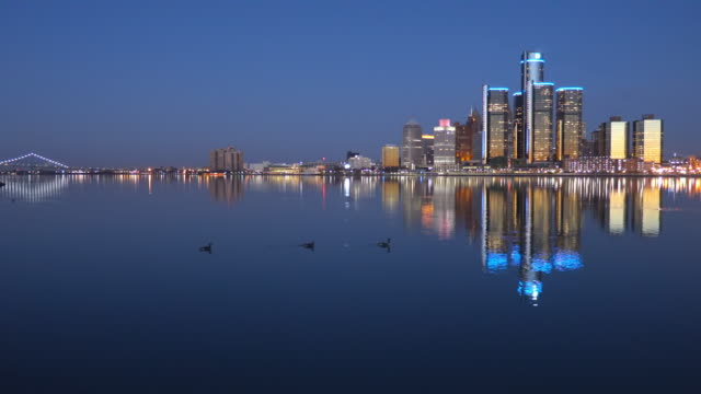 detroit michigan - detroit michigan stock videos & royalty-free footage