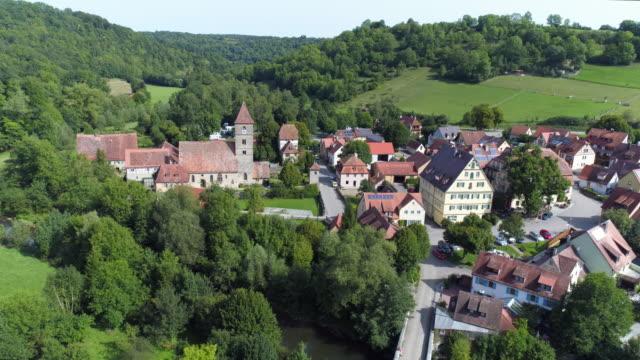 In der Nähe von Rothenburg Ob der Tauber Detwang