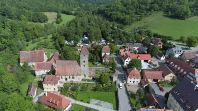 detwang near rothenburg ob der tauber - romantic road germany stock videos and b-roll footage