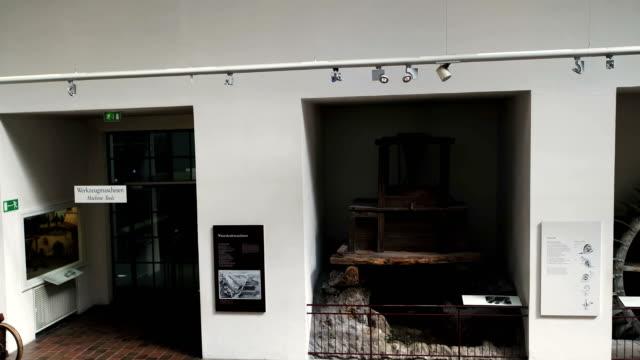 Deutsches Museum München, Drohnenaufnahme innen, Dampfmaschinen 3