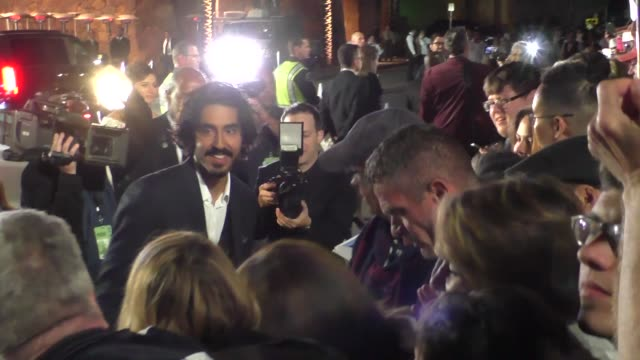 Dev Patel arriving to the Palm Springs International Film Festival Film Awards Gala in Palm Springs in Celebrity Sightings in Los Angeles