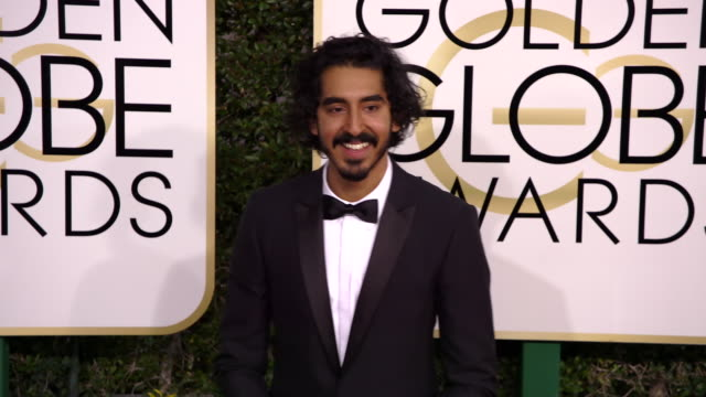 Dev Patel at 74th Annual Golden Globe Awards Arrivals at 74th Annual Golden Globe Awards Arrivals at The Beverly Hilton Hotel on January 08 2017 in...