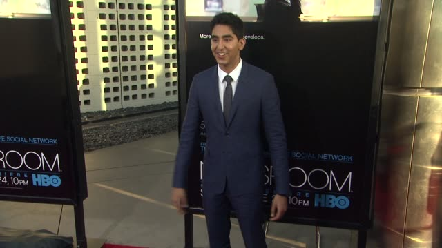 dev patel at hbo's 'the newsroom' premiere at arclight cinemas dev patel at arclight cinemas cinerama dome on june 20 2012 in hollywood california - cinerama dome hollywood stock videos and b-roll footage