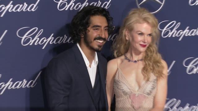 Dev Patel Nicole Kidman at 28th Annual Palm Springs International Film Festival Awards Gala in Los Angeles CA
