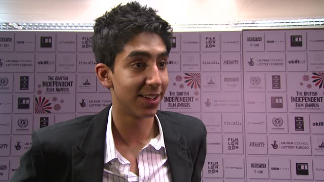 Dev Patel on his future career and the film at the British Independent Film Awards at London