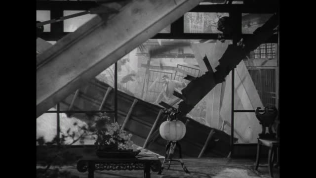 1941 A devastating earthquake destroys couple's (Irene Dunne and Cary Grant) house in Japan