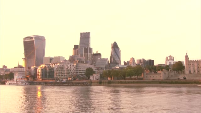 developers avoiding commitments to build affordable housing england london city of london skyline including 20 fenchurch street leadenhall building... - axe stock videos and b-roll footage