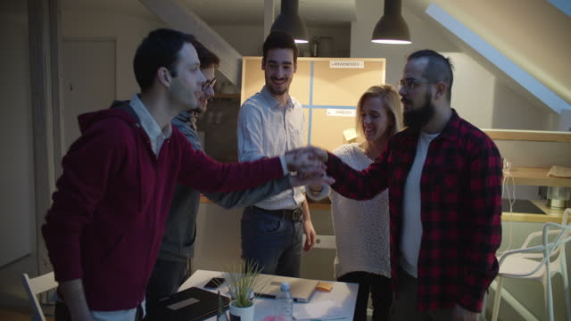 developers working in their office - employee engagement stock videos & royalty-free footage