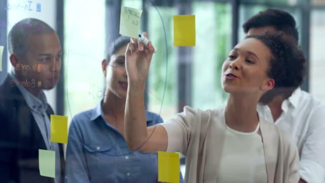 vidéos et rushes de développement de grands projets - brainstorming