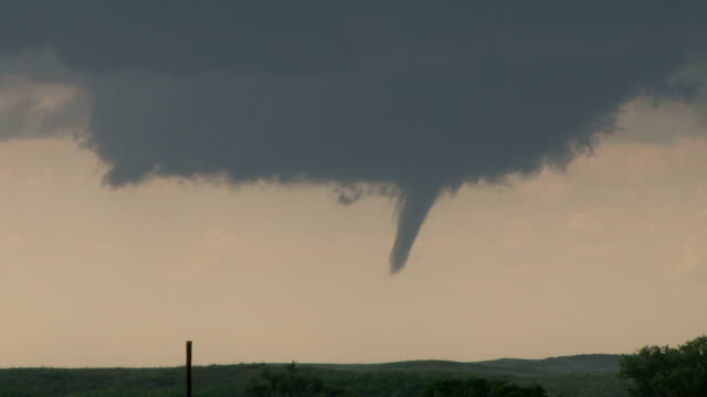 developing tornado in texas- timelapse sequence - blowhole stock videos & royalty-free footage