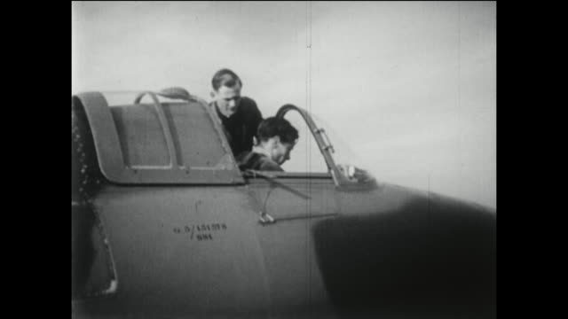 Development of the jet engine in the United Kingdom featuring the first turbo jet aircraft the Gloster E28 using the jet propulsion engine designed...