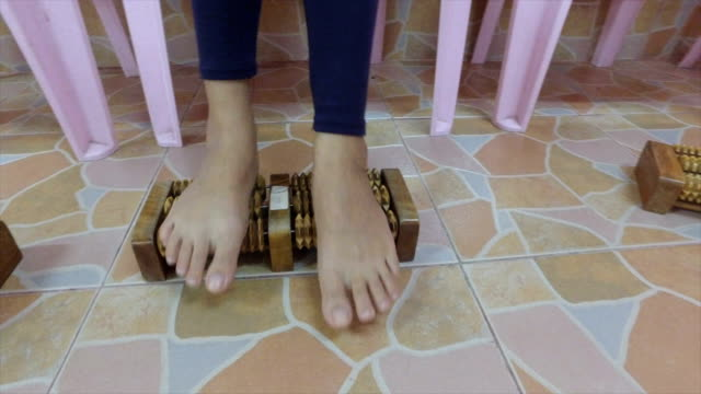 device for foot massage