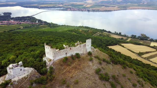 devin castle ruin - czech republic stock videos and b-roll footage