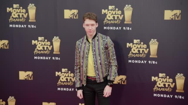 Devin Druid at 2018 MTV Movie TV Awards Arrivals at Barker Hangar on June 16 2018 in Santa Monica California