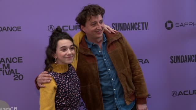 "devin france benh zeitlin at the ""wendy"" sundance premiere presented by searchlight pictures sundance film festival at eccles center theatre on... - sundance film festival stock videos & royalty-free footage"