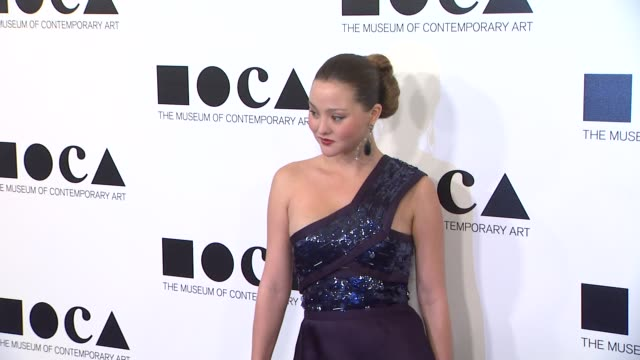 devon aoki at the the museum of contemporary art los angeles presents the annual moca gala at los angeles ca - los angeles museum of contemporary art stock videos and b-roll footage