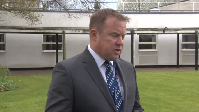 devon & cornwall police detective superintendent mike west reading a statement after 9-year old frankie macritchie was mauled to death by a dog at a... - police statement stock videos & royalty-free footage