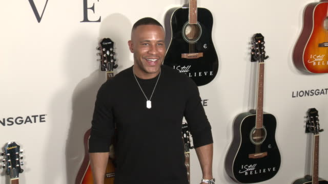 """devon franklin at """"i still believe"""" special screening at arclight hollywood on march 07, 2020 in hollywood, california. - arclight cinemas hollywood stock videos & royalty-free footage"""