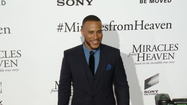 devon franklin at miracles from heaven los angeles premiere at arclight cinemas on march 09 2016 in hollywood california - arclight cinemas hollywood stock videos & royalty-free footage