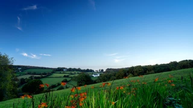 devon time lapse - dartmoor stock videos & royalty-free footage
