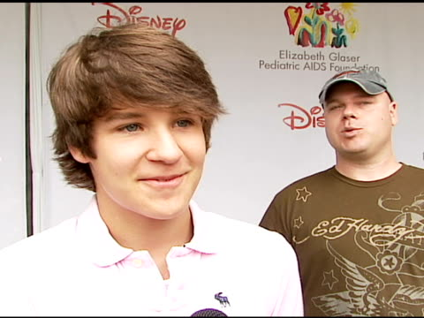 Devon Werkheiser on being at the event on how and why he got involved with and supports the Foundation what makes the 'Time For Heroes' carnival...