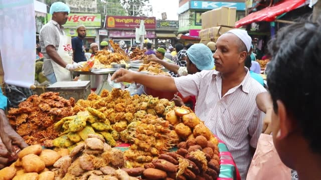 Dhaka 08 June 2016 traditional iftar market at Chawkbazar in Old Dhaka during Ramadan the ninth month of the Hijri calendar During Ramadan Muslims do...