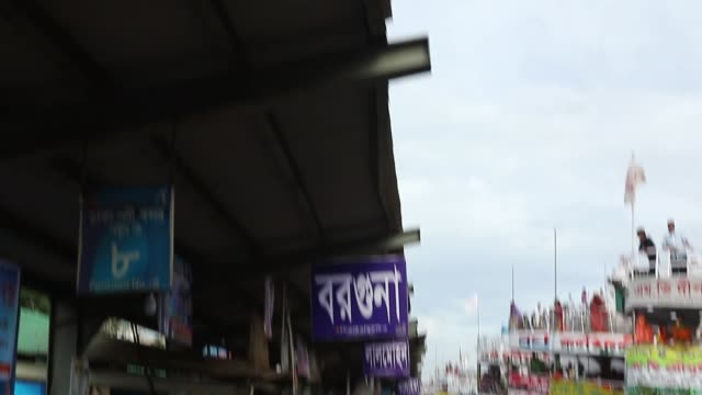 bangladeshis ride on packed ferries as they rush home to be with their families in their respective villages ahead of the eid al-fitr festival,... - ferry ride stock videos & royalty-free footage
