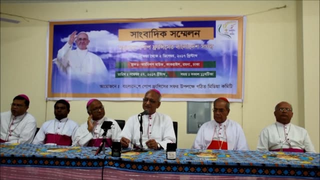 Dhaka's Archbishop says there are high hopes Pope Francis will speak about the Rohingya crisis during his three day visit to Bangladesh where more...
